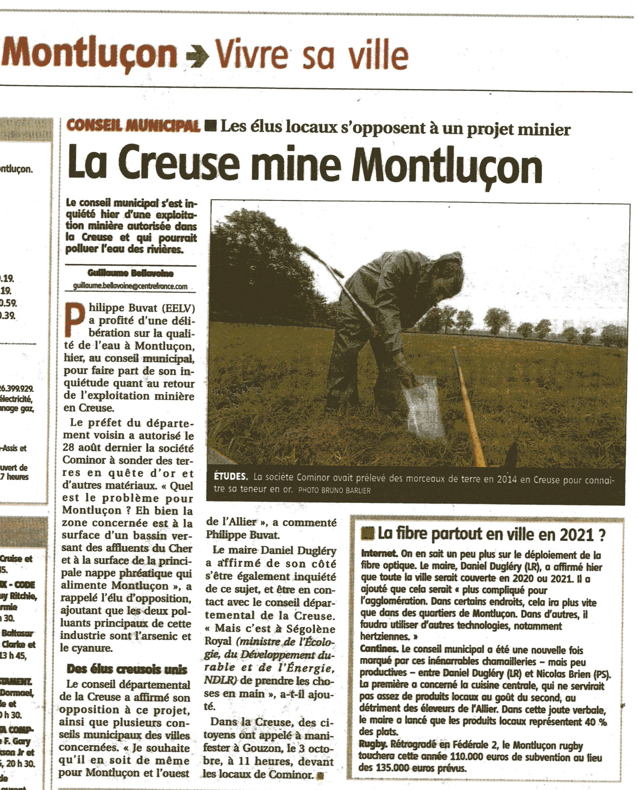 Journal la montagne montlucon 03 for La montagne journal brive