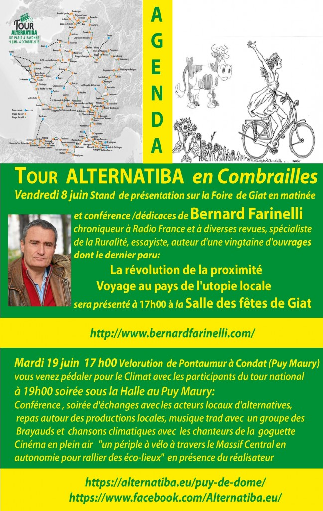 Agenda Alternatiba en Combrailles