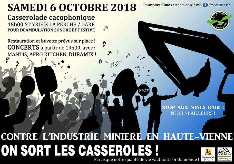 stopmines87 manif oct 2018